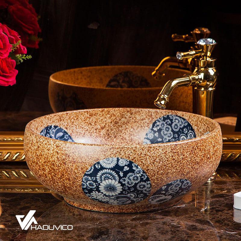 Chậu và vòi đồng đúc của Haduvico có sự tinh tế và nét đẹp riêng biệt
