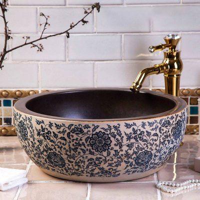 Chậu lavabo sứ là một trong những thiết bị vệ sinh không thể thiếu trong phòng tắm