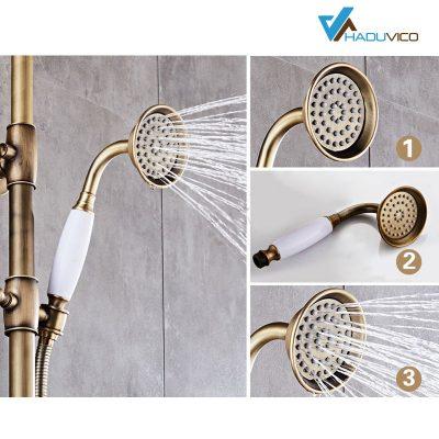 Tỷ lệ đồng là một yếu tố quyết định đến chất lượng và giá trị thẩm mỹ của những chiếc vòi sen tắm mang phong cách tân cổ điển cho những không gian phòng tắm sang trọng, đẳng cấp.
