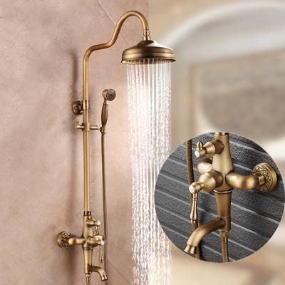 Chất lượng của vòi sen tắm bằng đồng chịu ảnh hưởng của nhiều yếu tố. Do đó bạn cần phải để ý trước khi mua thiết bị vệ sinh cho phòng tắm tân cổ điển